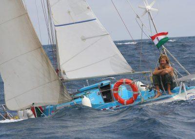 VándorLáss EST- Méder Áron: Óceáni és tengeri vitorlázásaim